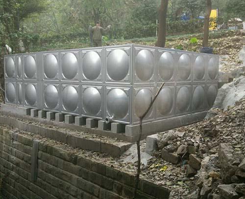 重庆烈士墓渣滓洞大功率方向不锈钢水箱
